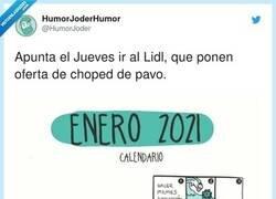 Enlace a Tremendo este enero ya, por @HumorJoder