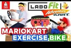 Enlace a Un 'youtuber' inventa un mecanismo para jugar a 'Mario Kart' en Nintendo Switch utilizando una bicicleta estática