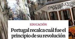 Enlace a Tres noticias de Portugal que te van a dar mucha envidia por lo bien que se hacen las cosas ahí, por @PsicEduM