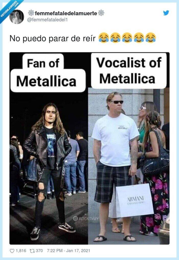 armani,metallica,vocalista