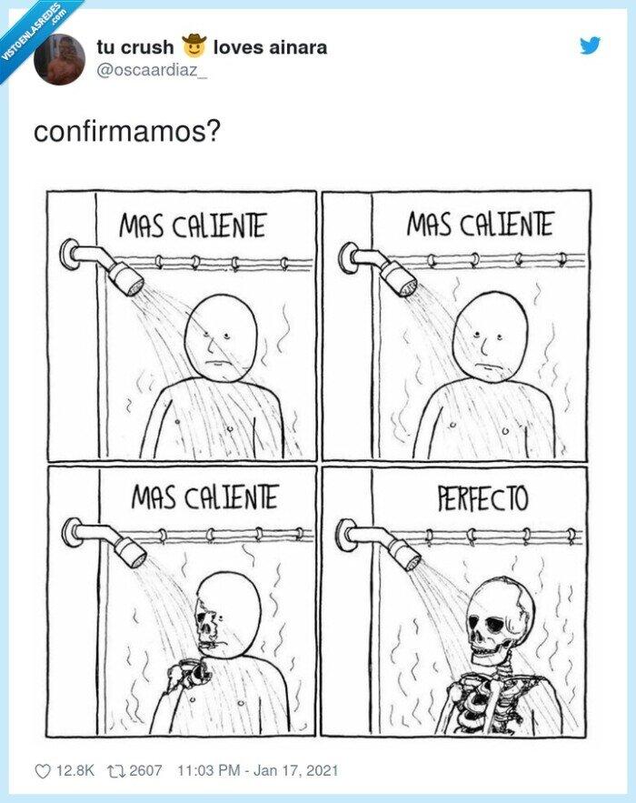 caliente,ducha