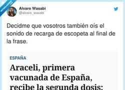 Enlace a Araceli, esperando al bicho, por @alvaro_wasabi