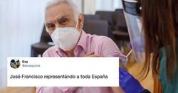 Enlace a El primer vacunado en Navarra suelta una frase antológica tras recibir la segunda dosis y ya es ídolo de masas