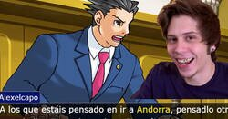 Enlace a Andorra Attorney: La genial parodia de la polémica del señor Rubius hecha videojuego, por @emmapache_