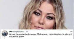 Enlace a Hoy es el día de Amaia Montero e internet explota por los aires