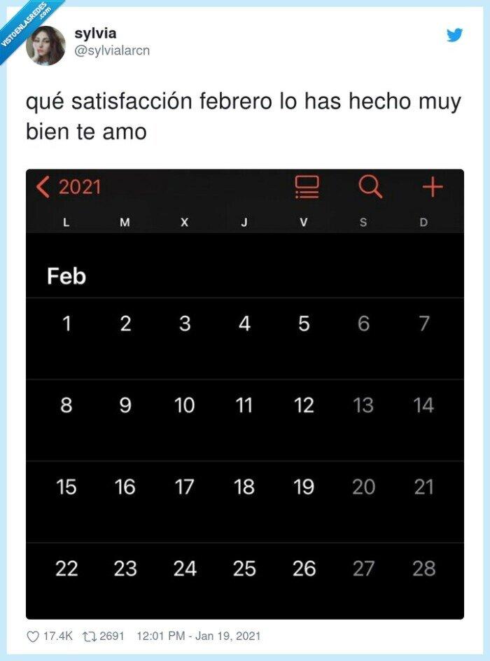 febrero,lunes,satisfacción