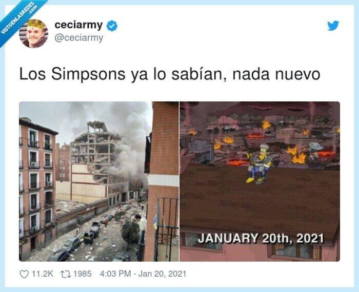20 de enero,explosión,saber,simpsons,toledo