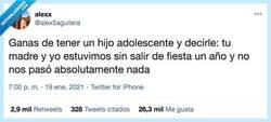Enlace a No pasa nada por no salir un día de fiesta, por @alex5aguilera