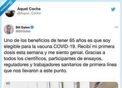 Enlace a Bill Gates con sus permisos de administrador, por @Aquel_Coche