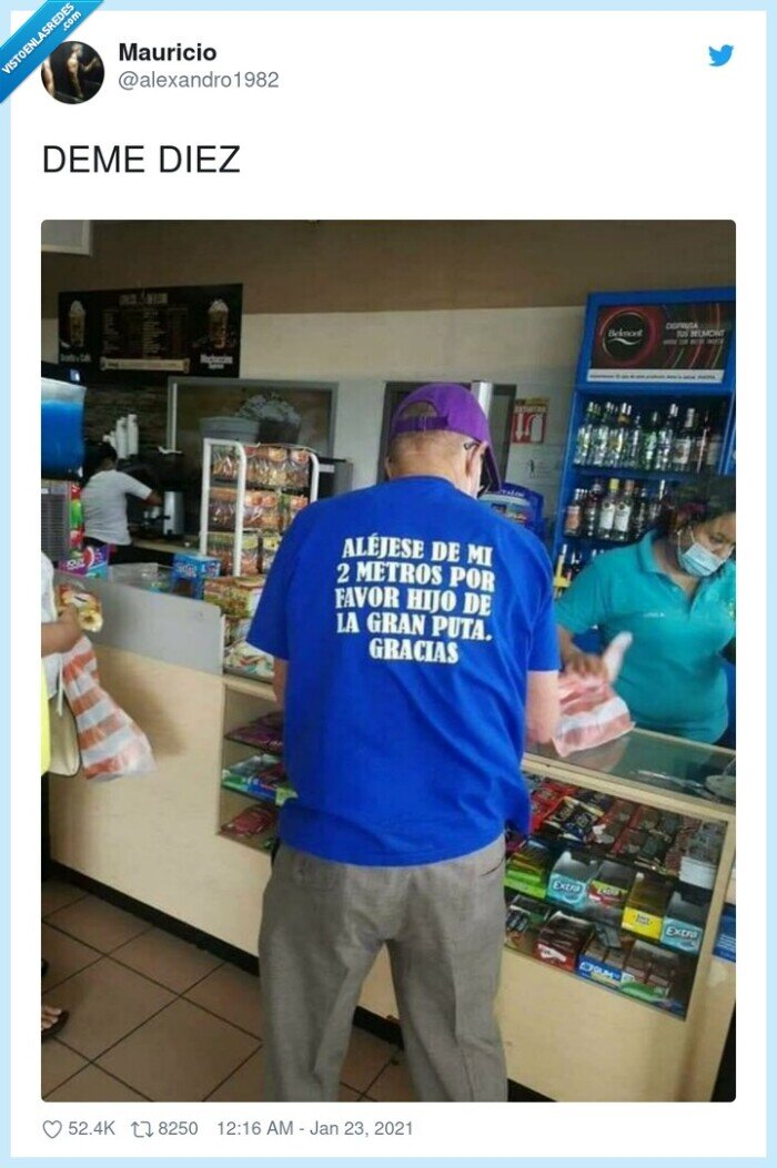 camiseta,coronavirus,distancia,insulto,social