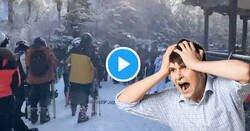 Enlace a Las imágenes de las pistas de esquí de Sierra Nevada a petar de gente en plena pandemia, ¡ole!