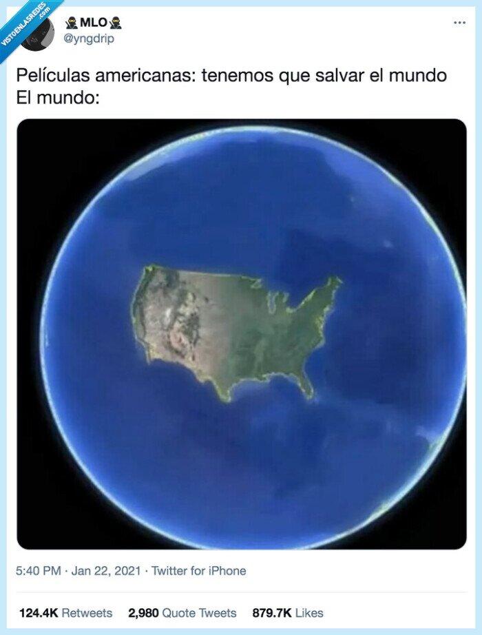 americanos,mundo,película,salvar