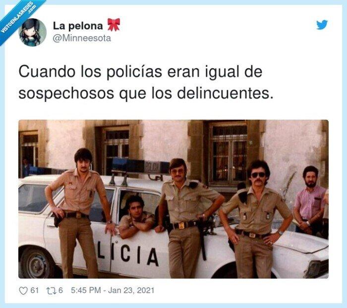 delincuentes,policías,sospechosos
