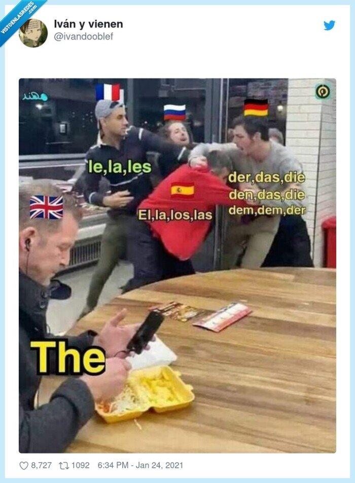 artículos,inglés