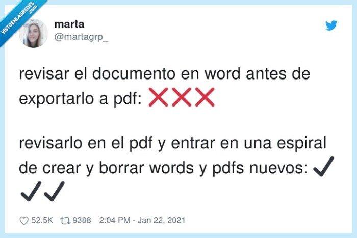 documento,pdf,revisar,word