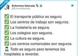 Enlace a Segurísimo vamos, por @EnfrmraSaturada