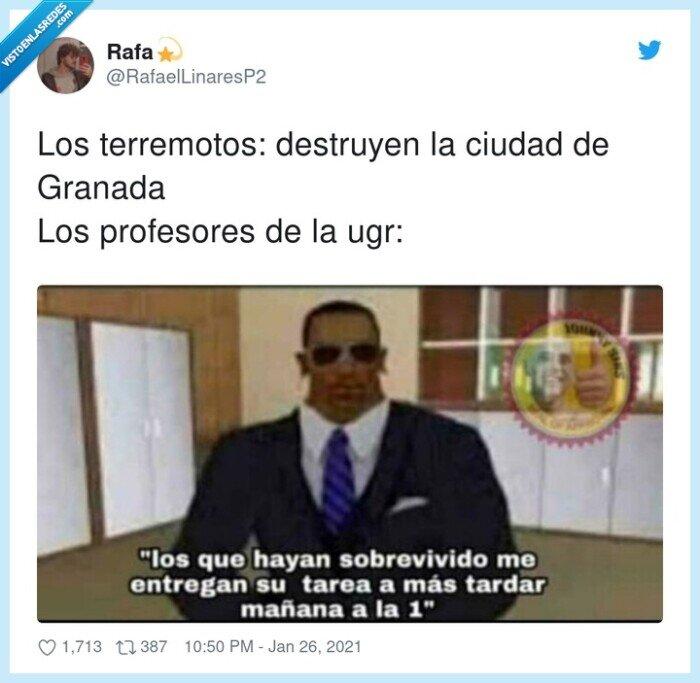 granada,profesores,terremotos