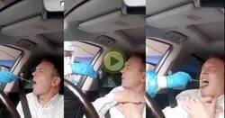 Enlace a La desesperación de este hombre cuando le hacen una pcr en China, es tremendo
