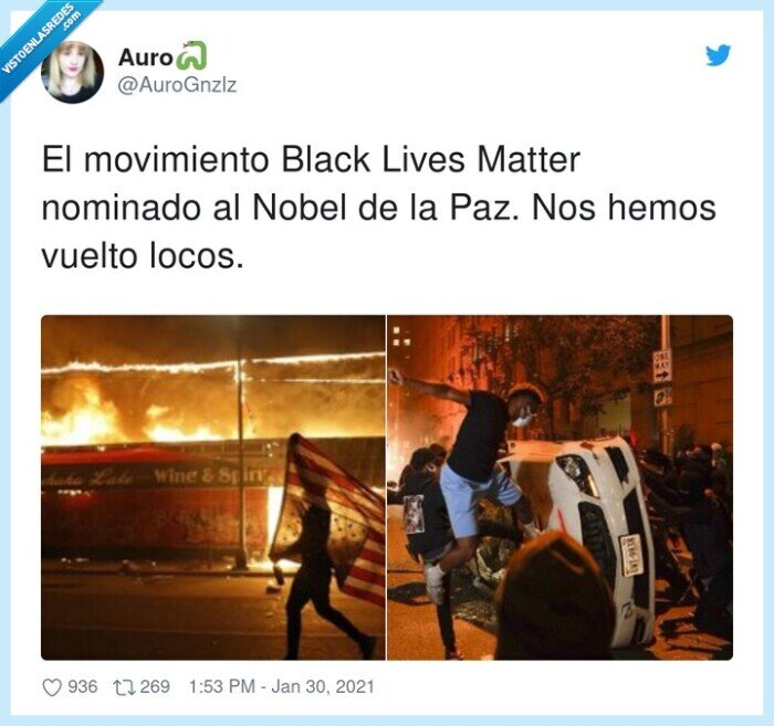 black lives matter,movimiento,nominado,premio nobel