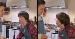 Enlace a La presentadora de Master Chef Samantha Villar es criticada por lo que le sugiere a su hijo en este vídeo, por @danielzaroe