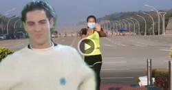 Enlace a Una mujer hizo clase de aerobic sin darse cuenta de que estaban dando el golpe de Estado en Myanmar con convoy de militares incluido