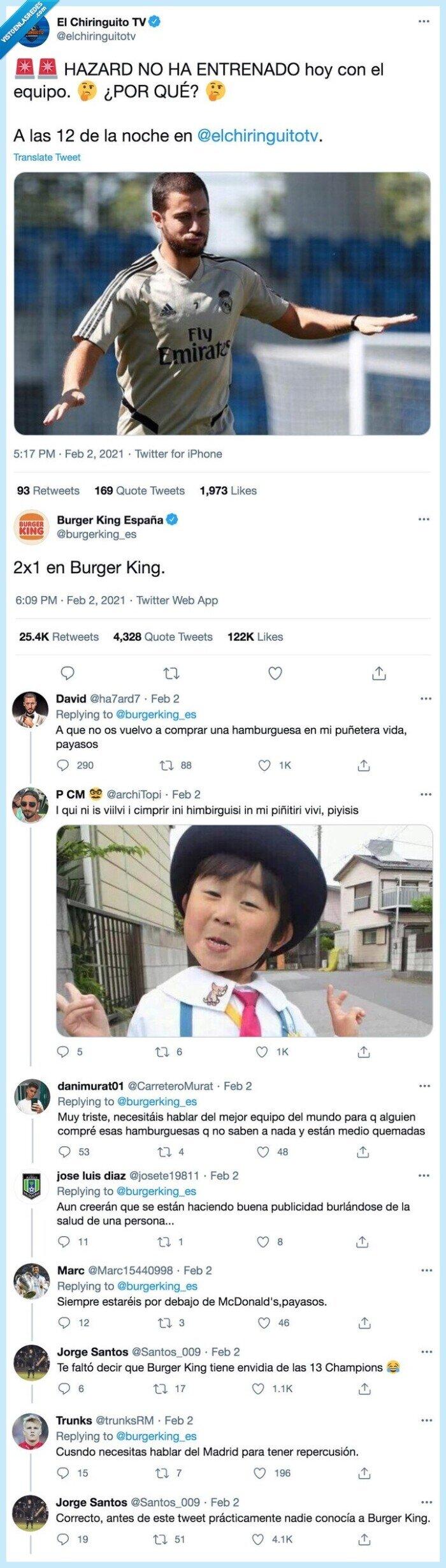 2x1,burger king,hazard