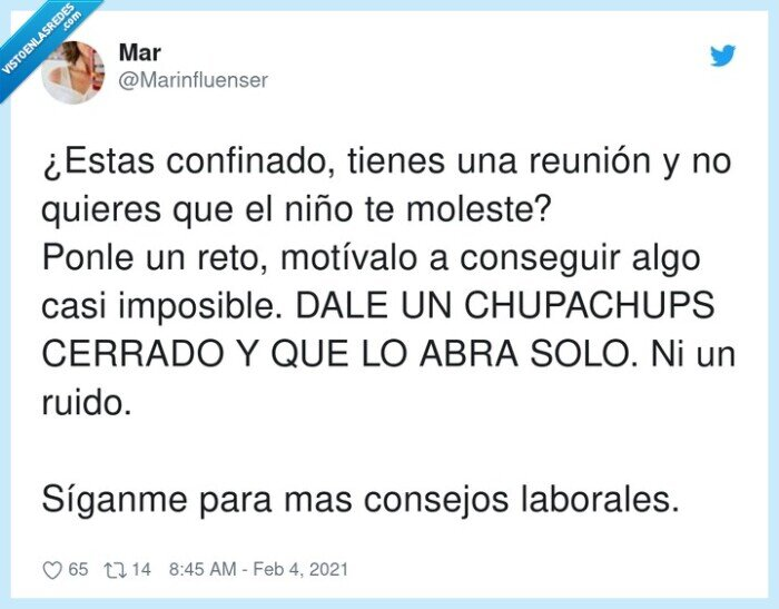 chupachups,confinado,imposible,motivación,teletrabajo,trabajo