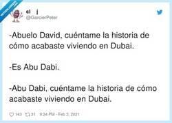 Enlace a Abu Dabi, por @GarcierPeter