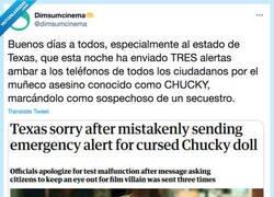 Enlace a ¡Chucky está suelto! Por @dimsumcinema