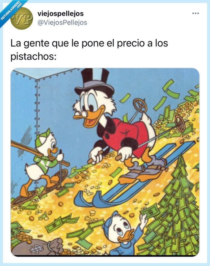 dinero,pistachos,precio,situaciones,Tuit,tweet,verdad