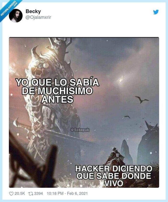 hacker,vivir