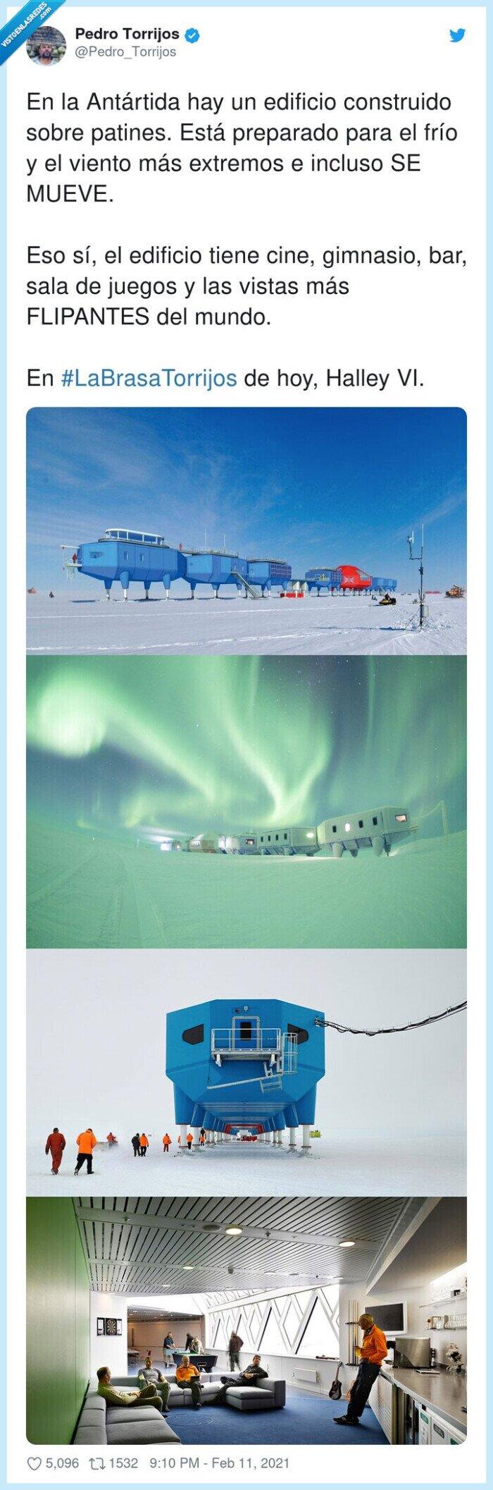 #labrasatorrijos,antártida,construcción,edificio