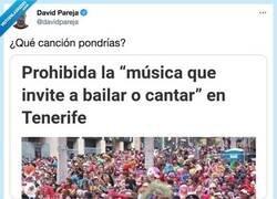 Enlace a Pregunta qué canción pondrías que no invite nada a cantar ni bailar y todo el mundo opina lo mismo jajajajajajaja, por @davidpareja