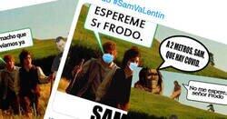 Enlace a Ya llegó el día: aquí están los mejores memes de SAM VA LENTÍN por SanValentín