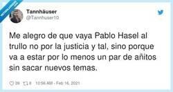 Enlace a Las cosas como son, es una injusticia pero que no cante más, por @Tannhuser10