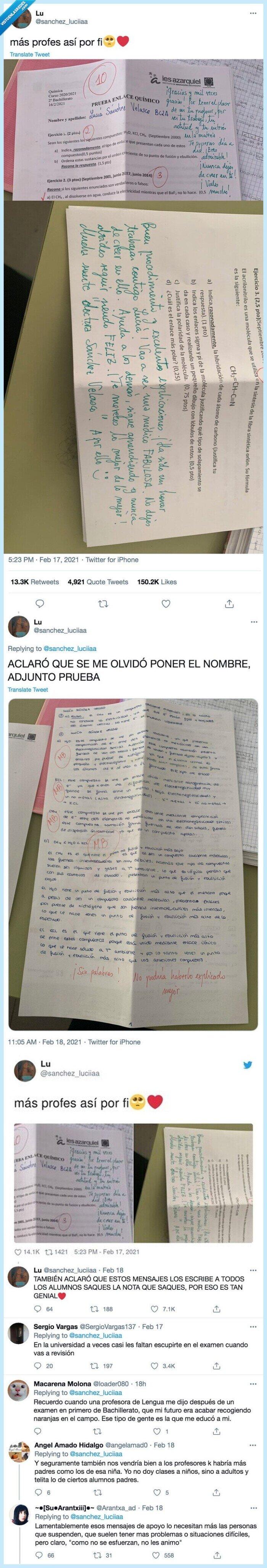 examen,motivar,profesor