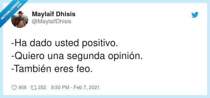 feo,opinión,positivo