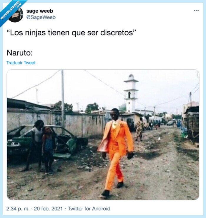 discreción,naranja,naruto