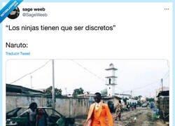 Enlace a ¿Discreto Naruto? por @SageWeeb