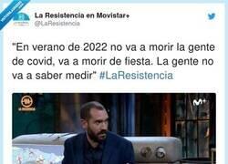 Enlace a Se viene, por @laresistencia