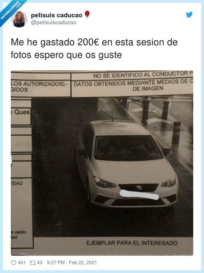 200€,foto,multa,sesion