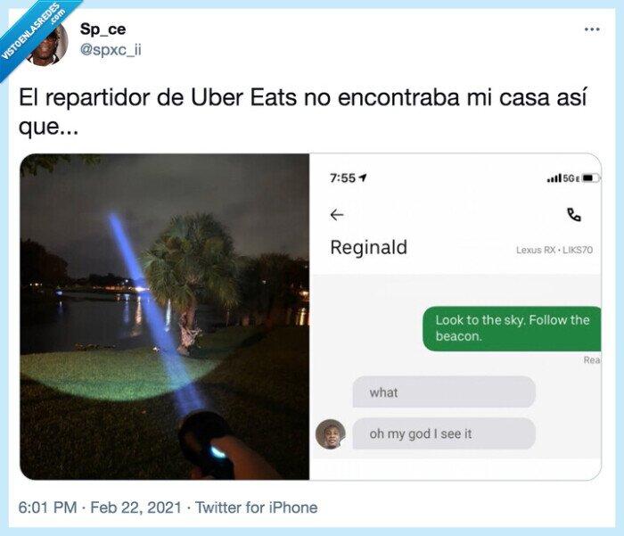 comida,laser,pedir,uber eats
