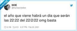 Enlace a Quien cumpla 22 años ese día estará bendecido, por @nuriaoviedoe