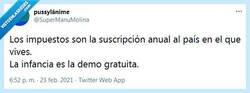Enlace a Esta suscripción no la quieren los youtubers por @supermanumolina