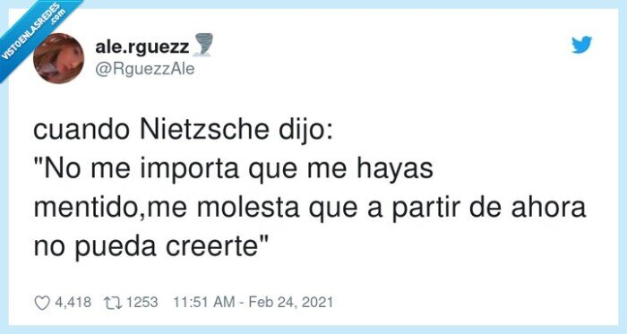 822001 - Nietzsche sí que sabe, por @RguezzAle