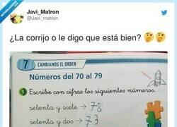 Enlace a La genial respuesta de una niña a un ejercicio de matemáticas, que demuestra que es más lista que la que hizo el libro