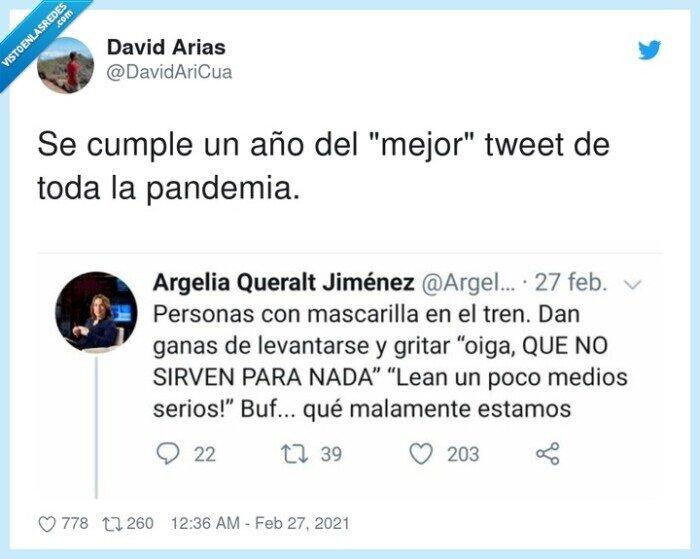 coronavirus,mascarilla,mejor tweet,pandemia