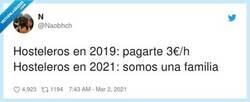 Enlace a Hosteleros en 2019: Vamos muy justos, antes se trabajaba mucho más , por @Naobhch