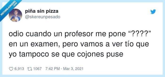 examen,profesor,tampoco