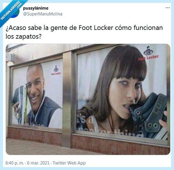 foot locker,publicidad,zapatos